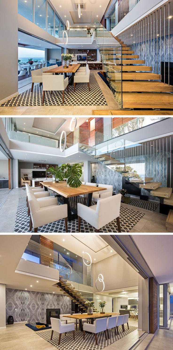 Dieses neue Haus wurde entworfen, um 180 ° Panorama-Meerblick zu erfassen
