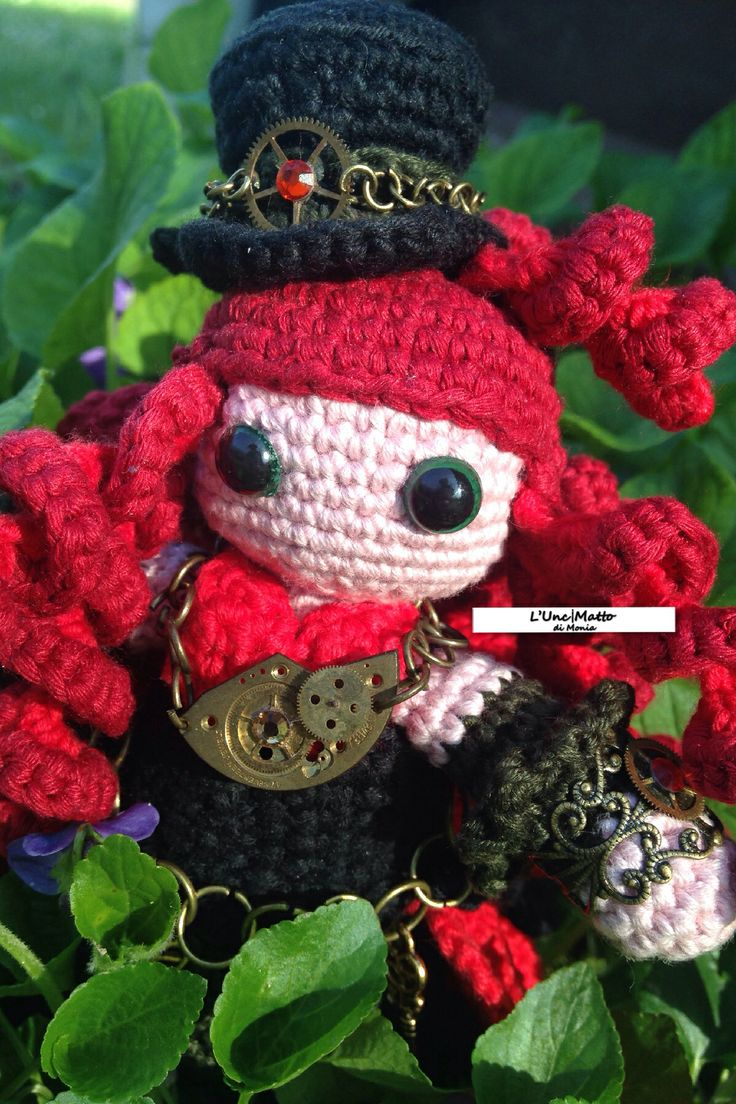 50 best crochet gothic steampunk images on pinterest gothic amigurumi crochet doll steampunk victorian age victorianage handmade amigurumi patternsamigurumi dollvictorianjewelsgothic bankloansurffo Images