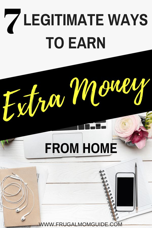 7 Ways to Earn Extra Money from Home – Managing Your Money – Tips For Financial Independence