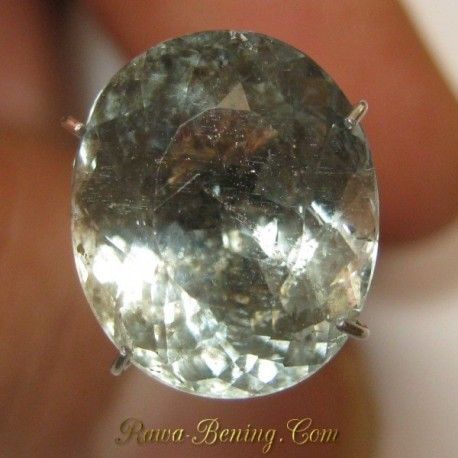 Batu Mulia Rich Blue Aquamarine 5.35 carat