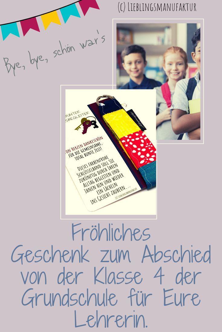 Abschied Klasse 4 Grundschule - fröhliches & buntes