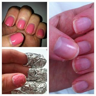 How to: Remove CND Shellac Gel Nails At Home | Perfectly Polished