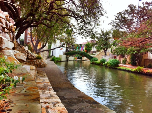 San Antonio River Walk. We lived in San Antonio for only a year. Luckily I have been able to visit a couple other times. The river walk in the spring is wonderful with the flowers and baby ducklings everywhere