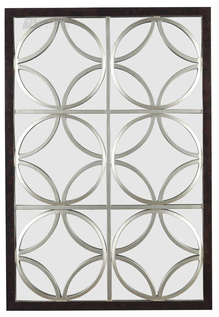 South Shore Decorating: Kenroy 60016 Gable Wall Rectangular Mirror KR-60016 @Lindsey Henderson This looks similar to mirror @ junk store