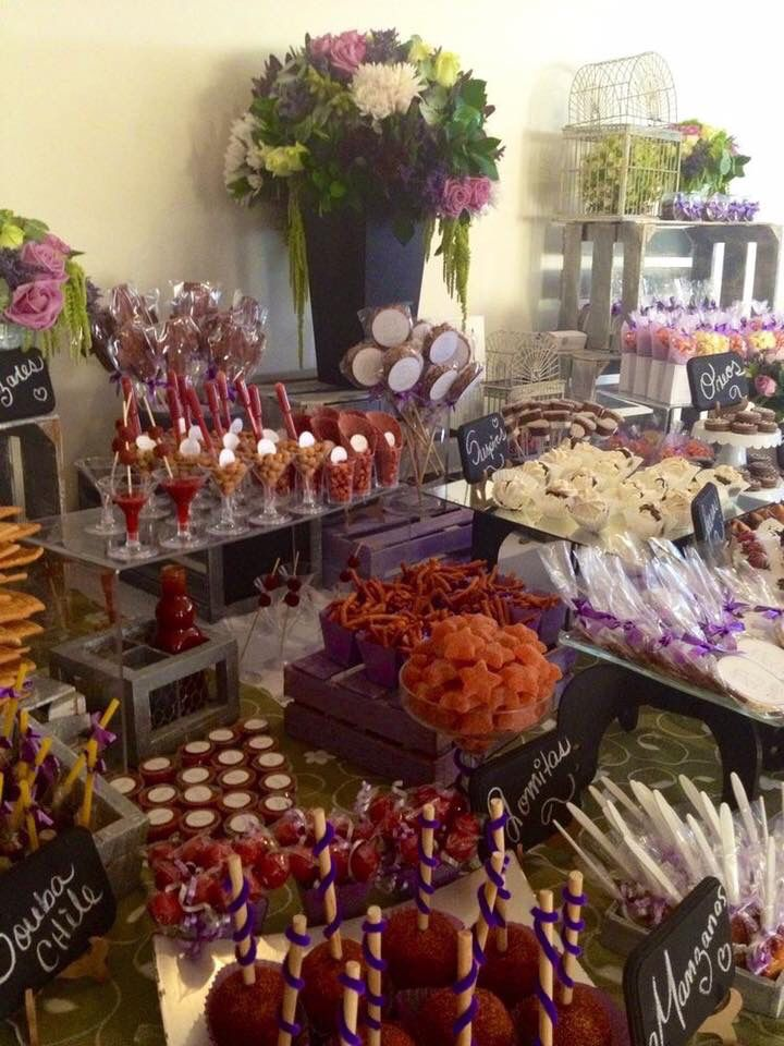 74 best images about candybar salado chilli on pinterest for Mesas para bar