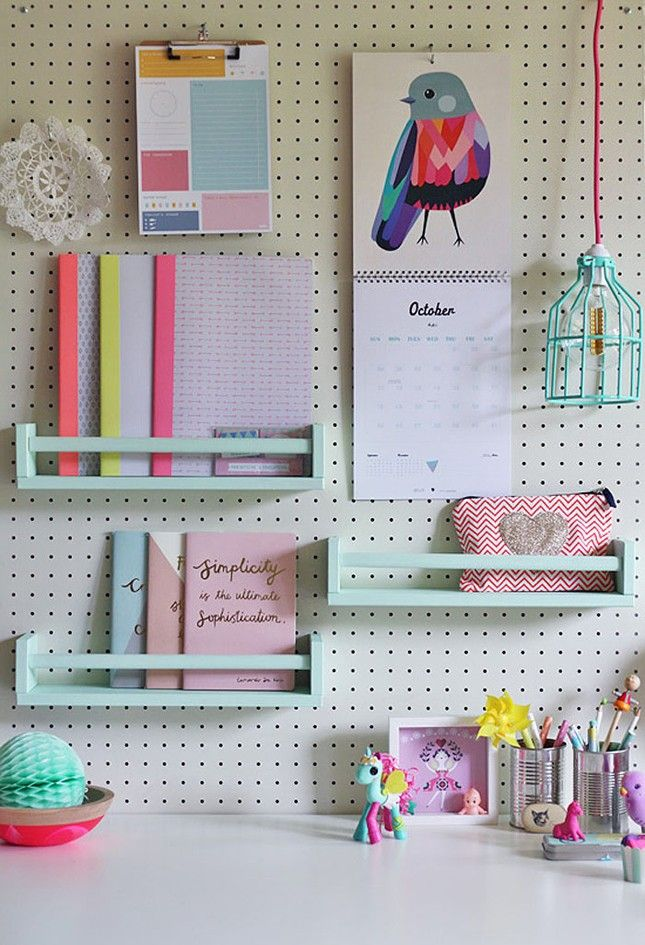 16 IKEA Hacks to Up Your Organization Game This Spring via Brit + Co