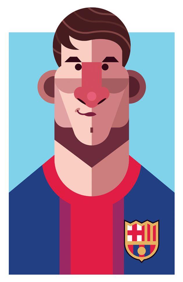 Lionel Messi por Daniel Nyari