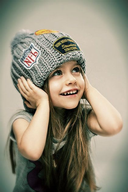I am doing this with my daughter, Lord willing, but with a Hockey beanie not Football.