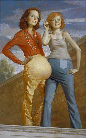 "ART BLOG ART BLOG: ""Patch and Pearl,"" 2006, John Currin"