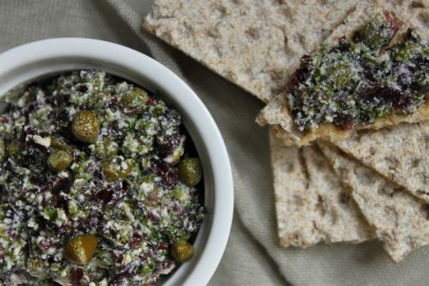 Tartinade aux algues, au tofu soyeux et aux câpres - La cuisine d'Anna et Olivia