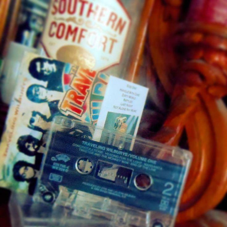 Charlie T. Wilbury Jr.,  66 today! ...#happybirthday #tompetty #travelingwilburysvol1 #music #musician #bands #singer #guitarist #american #handlewithcare #georgeharrison #bobdylan #royorbison #jefflynne #charlietwilburyjr #albumoftheday #tape #cassette #cassettes #tapecollection #album #southerncomfort #travelingwilburys #freefallin #muddywilbury #endoftheline #americanmusic #oldskool #recordcollection