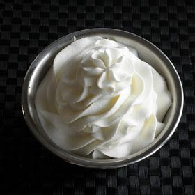 Stabilized Whipped Cream Frosting  Stands up well, even in warm weather.  1/2 tsp unflavored gelatin powder 2 tbsp cold water 1 cup heavy whipping cream 2 tbsp confectioner's sugar