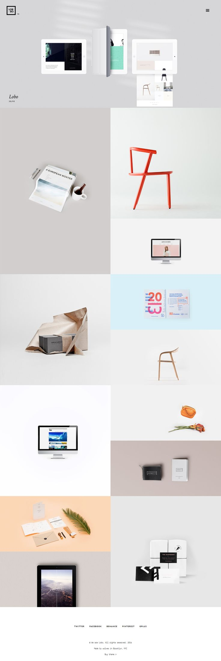 Lobo - Portfolio for Freelancers & Agencies on Behance