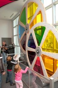 interactive art lab at Huntsville Museum of Art