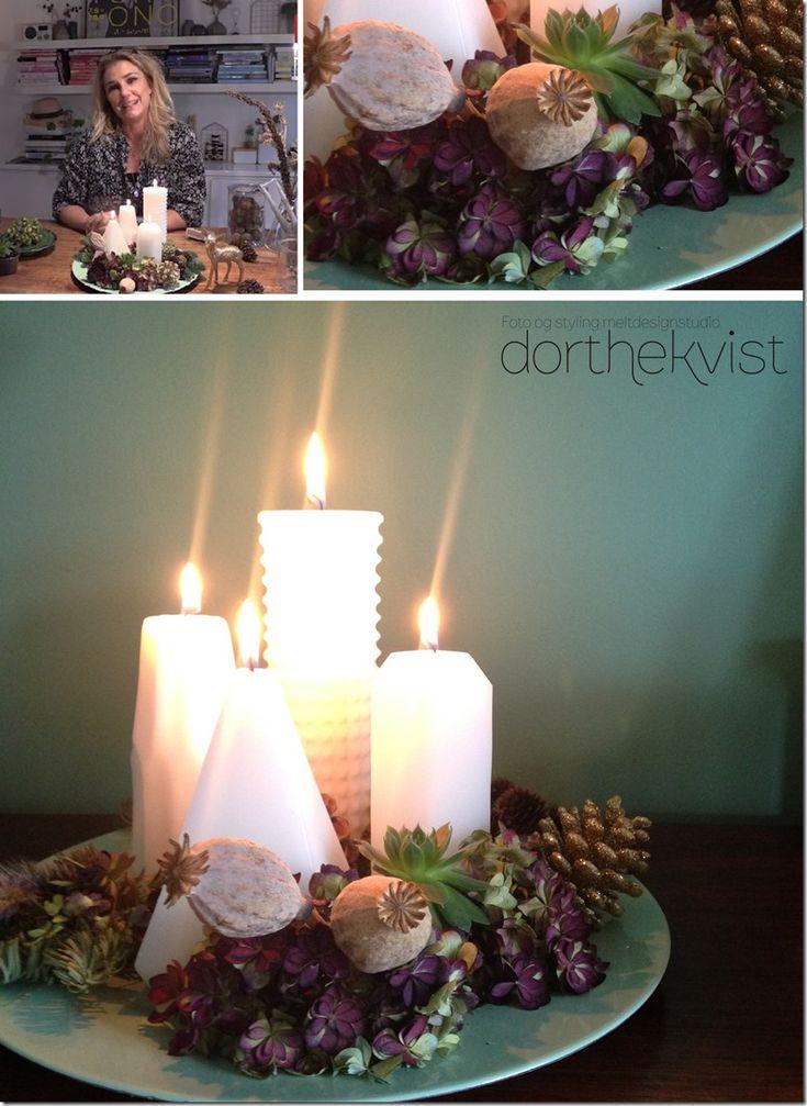 DIY lav din egen adventskrans se mere på bloggen www.dorthekvist.dk Blog - MeltdesignstudioMeltdesignstudio | Dorthe Kvist