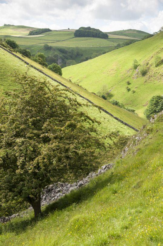 Wolfscote Dale Walk - Peak District, England