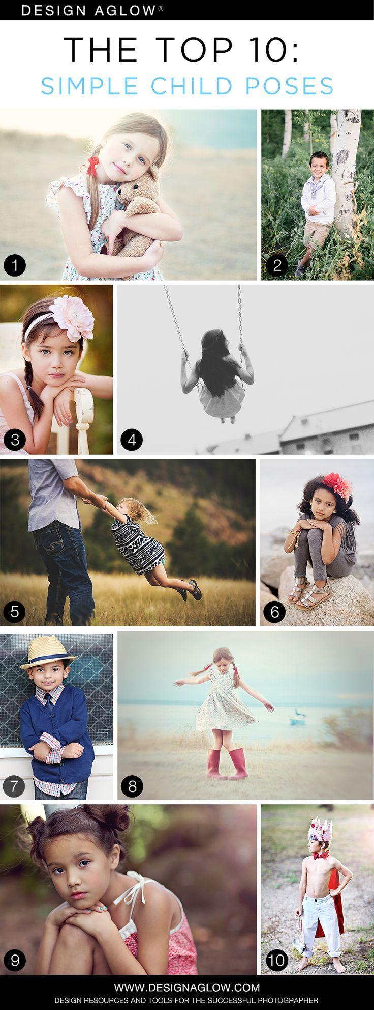 The Top 10: Simple Child Poses #designaglow
