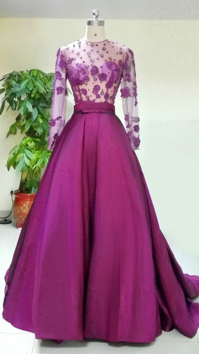 Long Sleeve Evening Dress,Sexy Evening Dress,Long Prom Dresses,Formal Dress,lace up dresses.BD170554