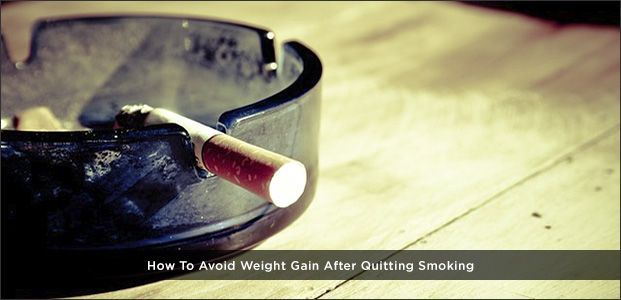 Avoid Weight Gain After Quitting Smoking #quitsmoking