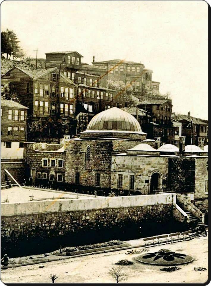 Üsküdar, Mihrimah Sultan Külliyesi - 1930'lar / (Şu anlarda Mihrimah Sultan Tıp Merkezi..)