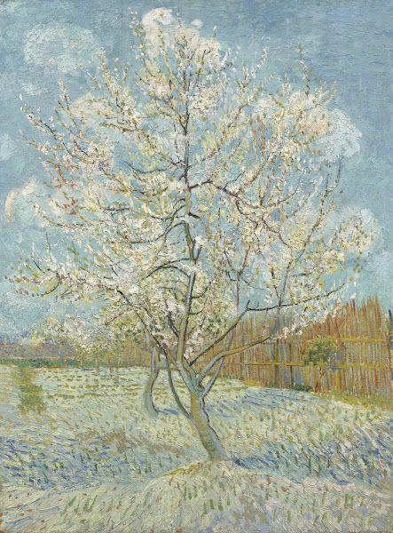 The Pink Peach Tree, 1888, Vincent van Gogh, Van Gogh Museum, Amsterdam (Vincent van Gogh Foundation)