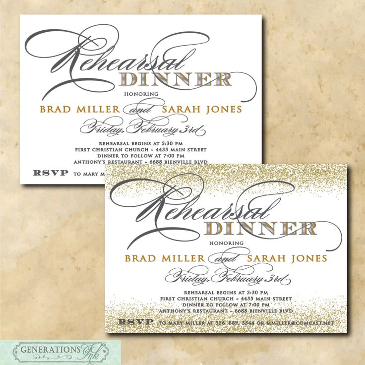 Best 25+ Rehearsal dinner invitation wording ideas on Pinterest - dinner invitation templates free
