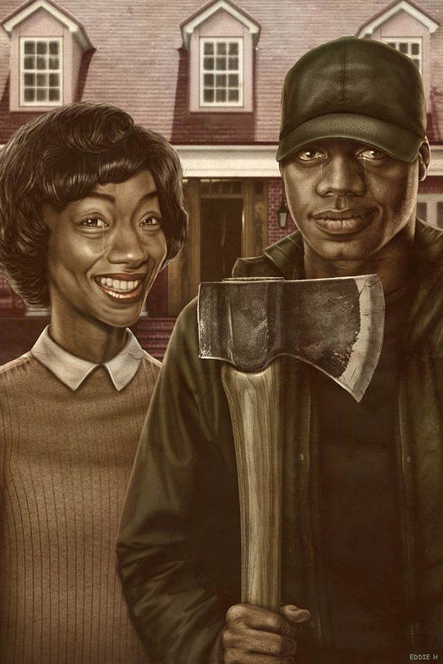Get Out as American Gothic