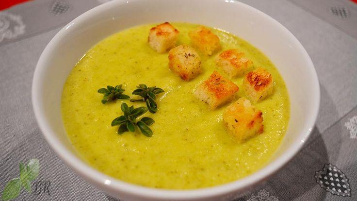 Supa crema de dovlecei, reteta supa crema