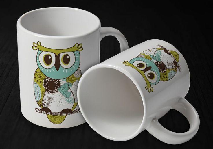 Owl Kupa Bardak