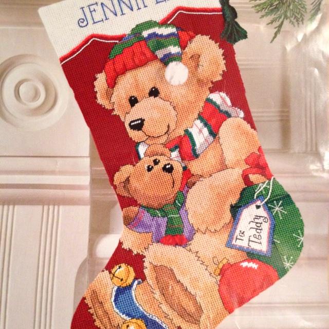 3 -,Gabriella's stocking - nieces & nephews.