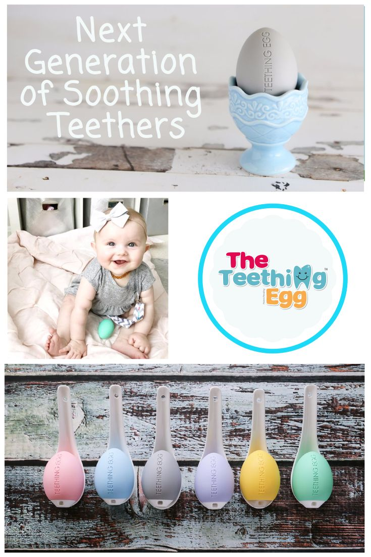 The Next Generation of Soothing Teethers Are Here!!! The Teething Egg is the next generation of soothing teething toys. Our patented, proven design and shape is the perfect size and weight for little hands and mouths. Made in the USA with American FDA food grade TPE material, CPSC tested for safety, and backed by our 60-day money back guarantee. Order yours today risk free!