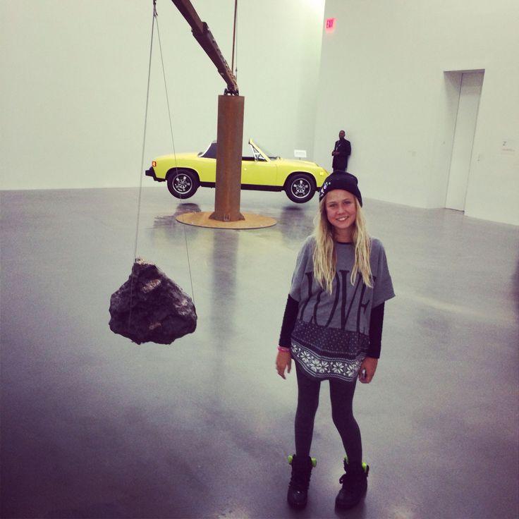 Art happening NYC.
