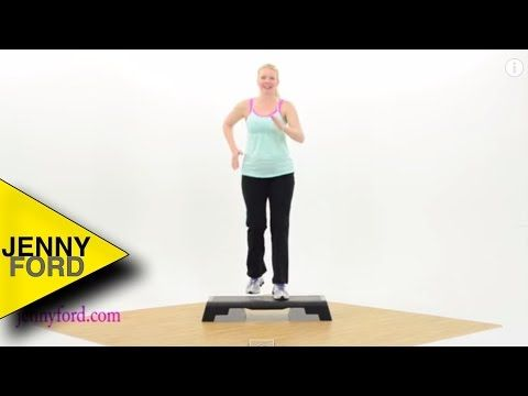 Aerobic Bootcamp Step -Full Length at Home Workout Exercise Video-LOW IMPACT - YouTube