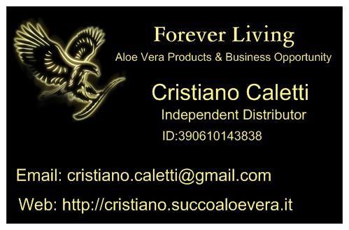 Forever Living Business Card