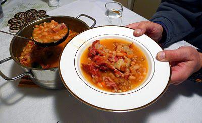 Serbian Beans - spices and pork flavor this simple bean dish.