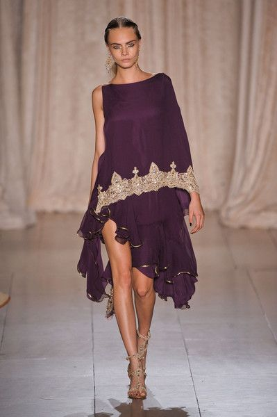 4.Marchesa Spring 2013-- Resembles doric chiton do to the draping of  the garment and style.