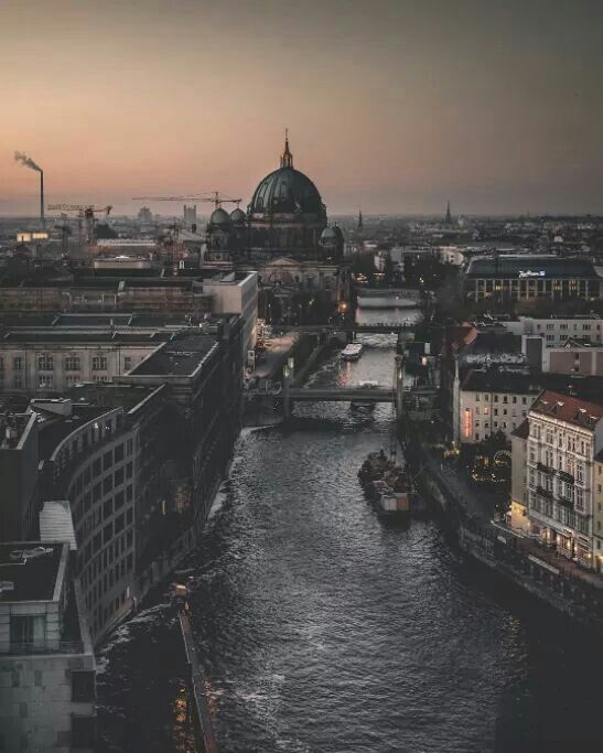 No idea who took this picture of Berlin but I love it