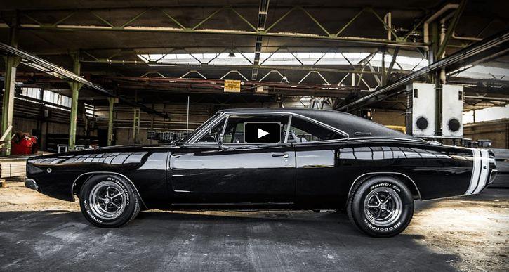 Stupendous 1968 Dodge Charger R/T 440 Restoration