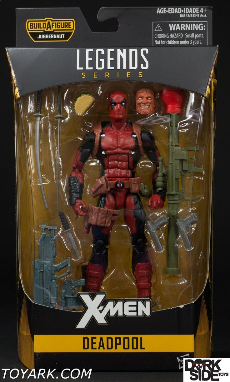 Deadpool is extraordinary at hand-to-hand combat and is highly skilled with bladed weapons. He is a master of assassination and is an excellent marksman. He also possesses a superhuman healing factor that allows him to regenerate damaged or destroyed areas of his cellular structure at a rate far greater than that of an ordinary human. As such, he can regrow severed limbs or vital organs. Related Dorksidetoys links: Marvel Legends Deadpool, All Marvel Legends, Newly Listed Marvel Legend...