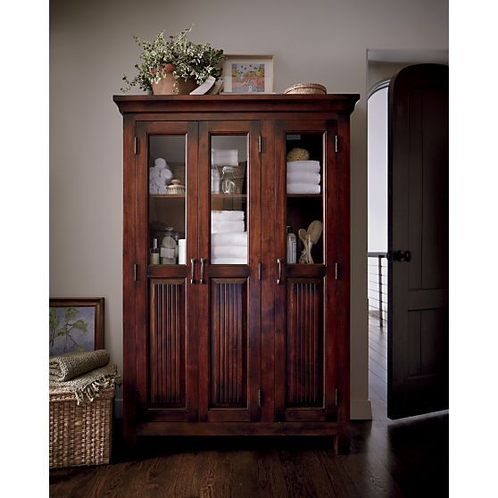 Awesome Crate and Barrel Storage Cabinet
