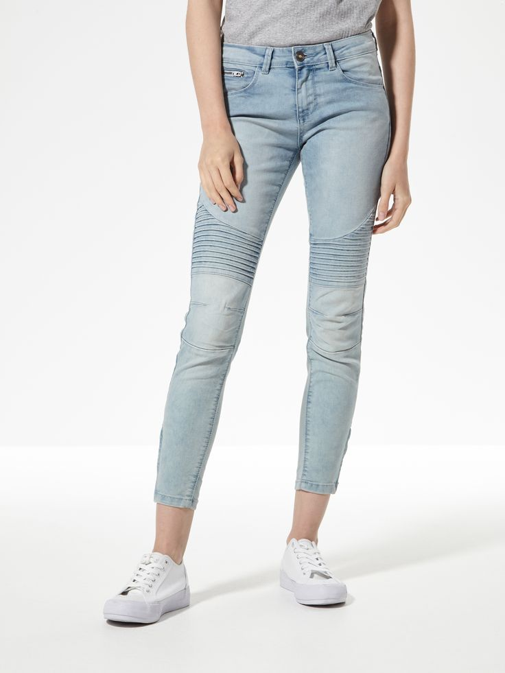 Jeansy LOW WAIST SKINNY, HOUSE