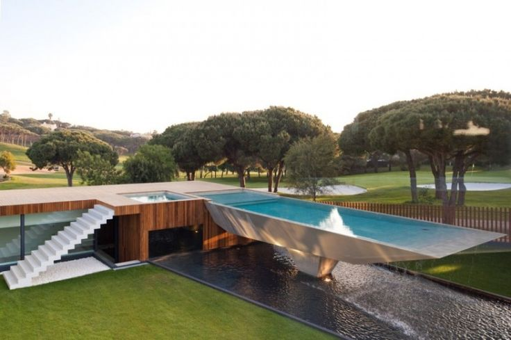 Casa Vale Do Lobo by Arqui+: Home Is Worth, Architecture, House, Wolf, Pools, Design