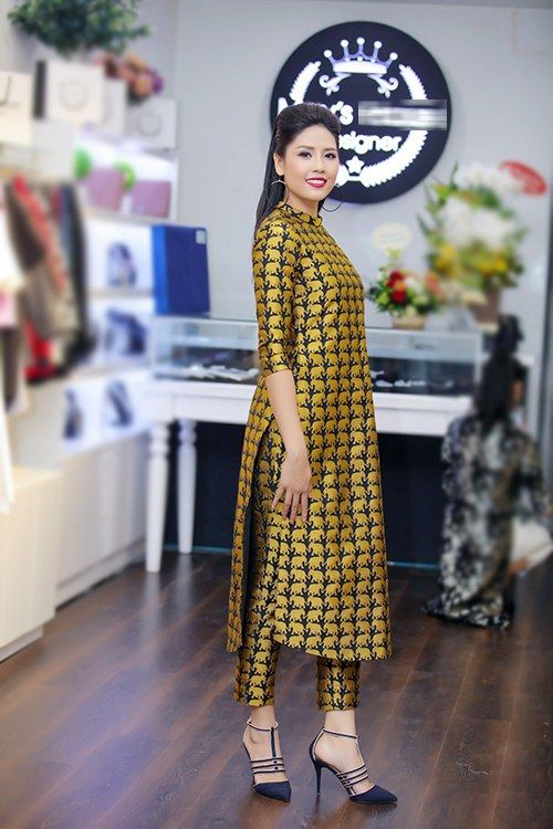 Modern Ao Dai.....Những mẫu áo dài cách tân làm say lòng mỹ nhân Việt, áo Dai