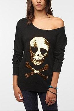 Skull shirt...cute!