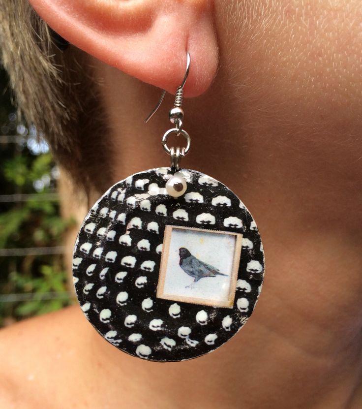 Earring bird $ 50,00