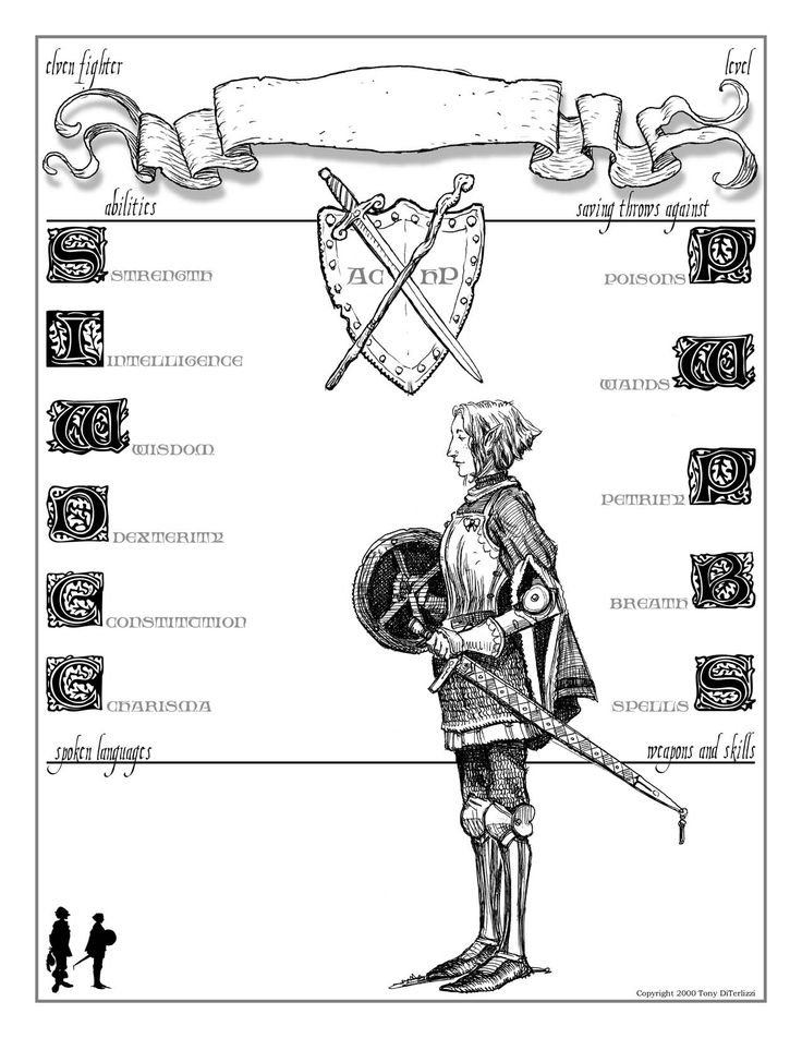 28 best character sheets images on Pinterest | Dnd character sheet ...