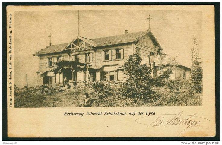 Lysa - Erzherzog Albrecht Schutzhhaus auf der Lysa - 1903