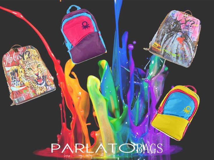 Zaini multi color e super cool #zaino #bags #bag #ynot #benetton