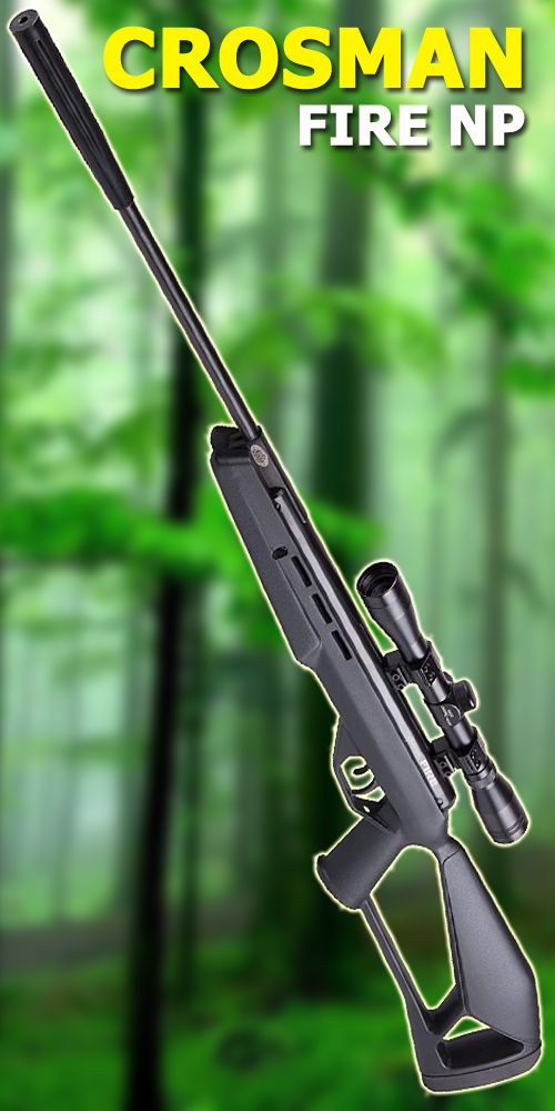 Fast, quiet, and smooth, the Crosman Fire NP is absolutely