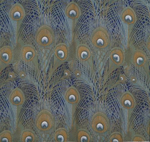 peacock fabric by Arthur Silver for Liberty of London, 1887: Peacock Feathers, Art Blog, Pattern, Museums, Peacock Fabrics, Arthur Silver, Furnishings Fabrics, Fabrics Design, Liberty Of London
